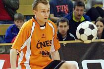 Na mezinárodním turnaji ve Vsetíně se představila i nová posila benešovského Šacungu Tomáš Kupský.