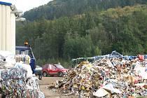 Na skládku v Přibyšicích se bude odpad ukládat ještě patnáct let. Díky anaerobní digesci.