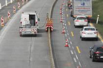 Omezení na dálnici D1 před Prahou potrvá od pátku 17. dubna do konce června.