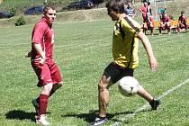 Fotbalové boje v Bukovanech.
