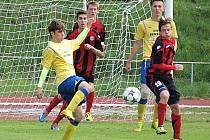 Devatenáctka Benešova v Chrudimi sice podala dobrý výkon, ale kvůli neproměňování šancí padla 0:1.