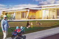 Grafický návrh nové mateřské školy
