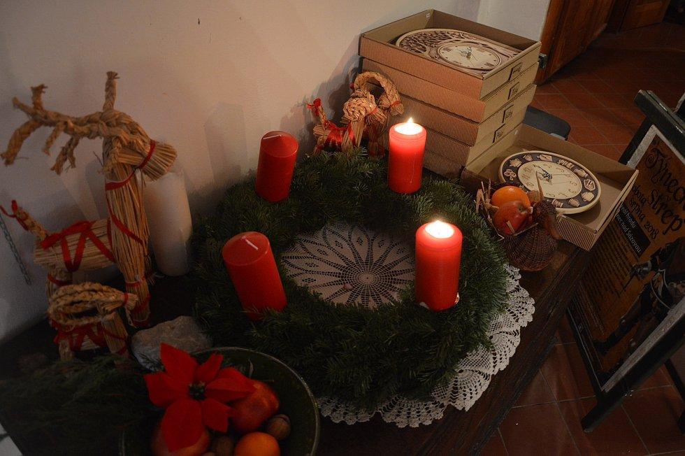 Křest kalendáře Proměny v čase v Týnci nad Sázavou.