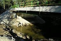 Most nad Benešovským potokem.