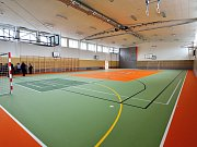Nová tělocvična ZŠ Čerčan slouží žákům i sportovní veřejnosti od úterý 5. září.