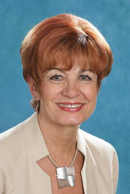 Olga Šťastná, jedna ze sedmi zastupitelek Vlašimi.