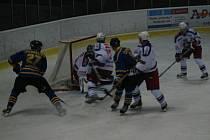 Ilustrační foto z domácího zápasu HC VHS Benešov - Benátky nad Jizerou z 6. listopadu (3:5)
