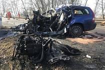 Tragická nehoda u Bystřice si vyžádala jeden lidský život.