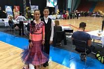 Benešov bude zastupovat na Zimní olympiádě dětí a mládeže taneční pár Adam Slepička a Jana Klápová.