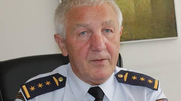 Josef Setnička, ředitel Územního odboru Hasičského záchranného sboru Benešov