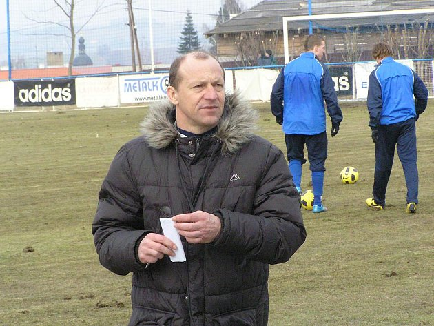 Trenér Vlašimi Boris Kočí