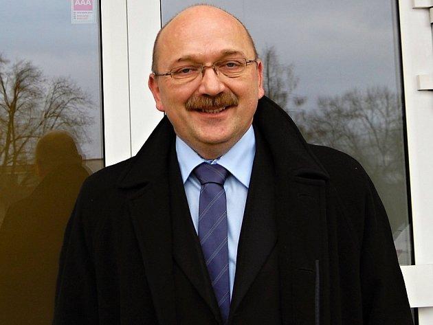 Pavel Pavlík, předseda představenstva Nemocnice Rudolfa a Stefanie Benešov.