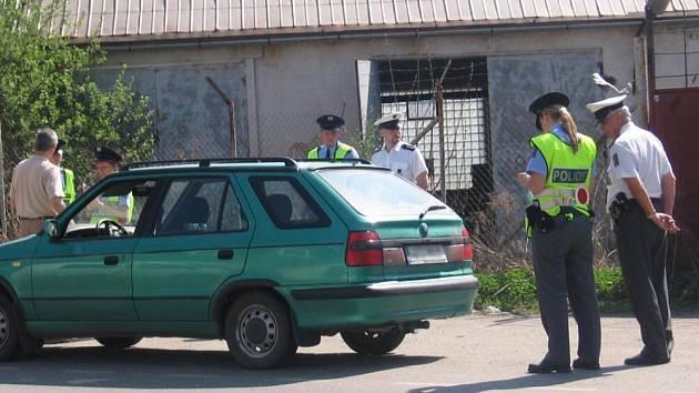 Budoucí policisté provětrali řidiče