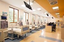 Dialyzační středisko v Benešově.