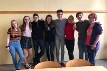 Benešovští gymnazisté.