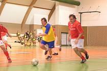 Futsalový turnaj starých pánů v Neveklově.