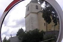 Kostel Narození Panny Marie ve Vysokém Újezdu je nyní chráněným územím.
