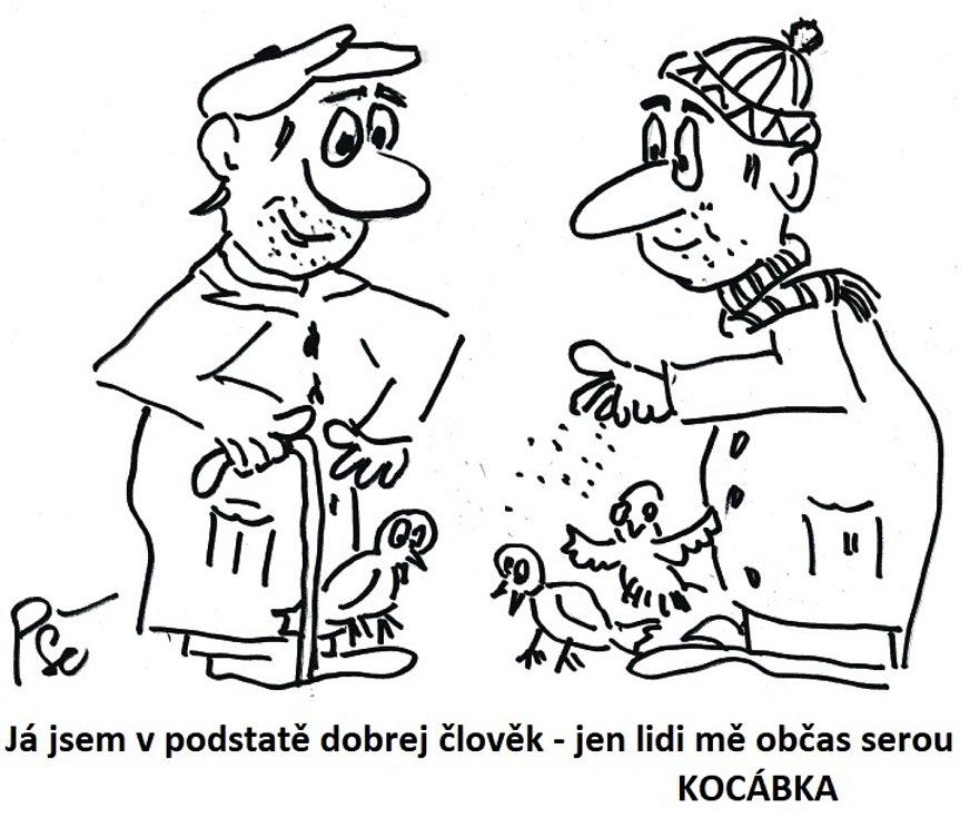Vaňasova dobrodružství a další příběhy v kresleném humoru Jiřího Cinkeise.