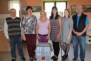 Druhý den závěrečného kola senátních voleb ve 41. senátním obvodu v Přibyšicích.