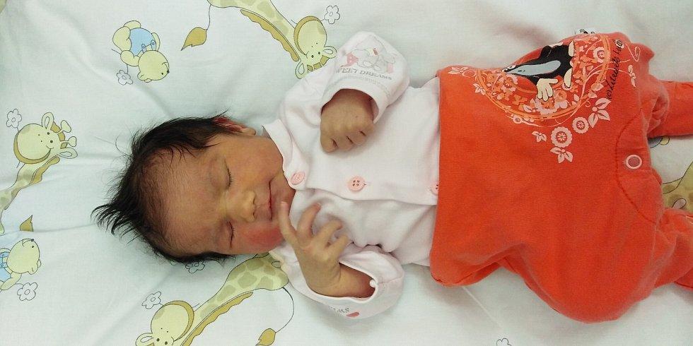 Nina Kábrtová se poprvé na svět podívala 15. dubna 2021 v 10. 50 hodin v čáslavské porodnici. Vážila 3340 gramů a měřila 49 centimetrů. Domů do Čáslavi si ji odvezli maminka Klára a tatínek Lubomír.