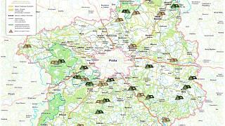 Nova Mapa Uz Laka K Letnim Navstevam Kempu Kladensky Denik