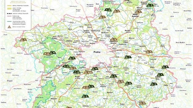 Nova Mapa Uz Laka K Letnim Navstevam Kempu Benesovsky Denik