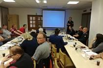 Školení dobrovolných hasičů z Voticka.