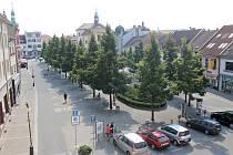 Masarykovo náměstí, září 2016.