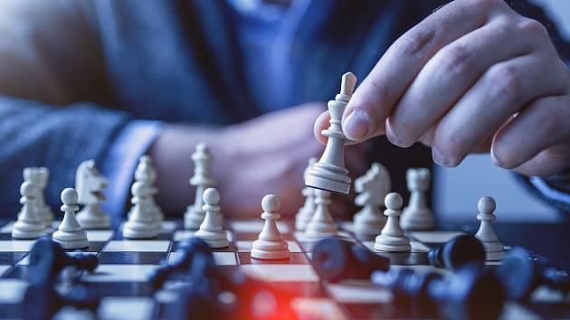 Šachy, ilustrační foto.