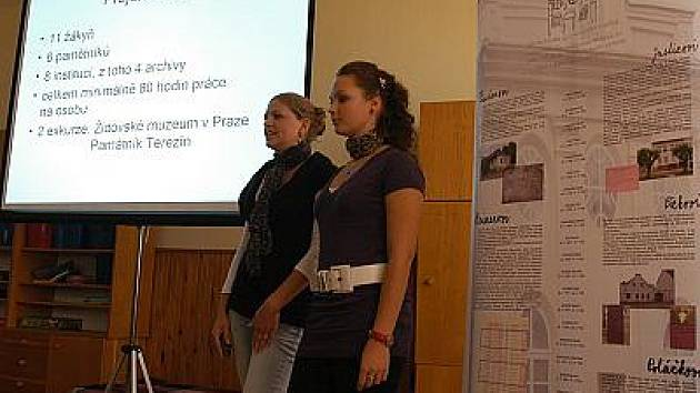 Prezentace projektu ZŠ Divišov Divišovští zmizelí sousedé.