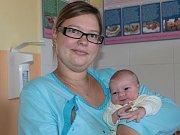 Malá Nela se rodičům Petře Daňkové a Lukáši Budinskému z Bystřice narodila 10. listopadu v 13.15. Vážila 3,55 kg a měřila 51 cm. Na sestřičku se těší její bráška Matyáš (9).