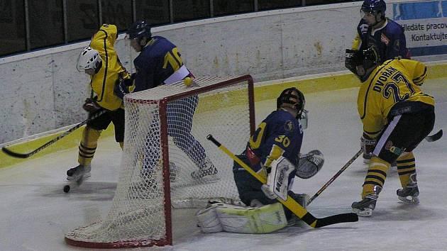 Pavel Dvořák byl opět strůjcem benešovské výhry v domácím prostředí.