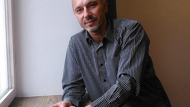 Benešovský otužilec Tomáš Podhola.
