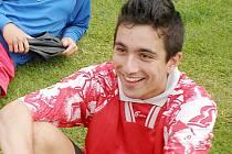 Jakub Vopěnka se usmívá, vstřelil v jednom zápase mužů deset branek se stane jednou za život.