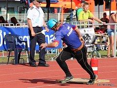 Fotostřípky z MČR v požárním sportu v Mladé Boleslavi.