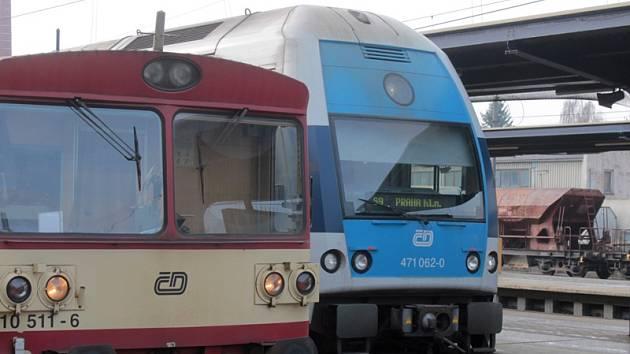 Vybrané spoje z Benešova dorazí na hlavní nádraží odklonem.