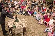 Příjemný den mohli v zahradě vlašimského spolkového domu sourozenců Roškotových strávit nejen prckové, ale i jejich dospělý doprovod.
