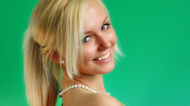 Nové tablo kandidátek na Miss hasička Středočeského kraje 2013 - finalistka Markéta Járková, Benešovsko.