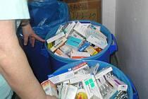 Zdravotnický odpad zamíří do spalovny. Ilustrační foto.