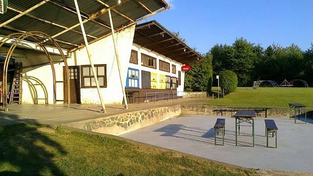 Rekreační areál Nová Rabyně.
