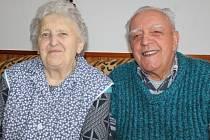 Marie a Miroslav Bílkovi žijí v Sudislavicích celý život.