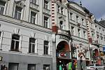 Hotel Pošta v Benešově.