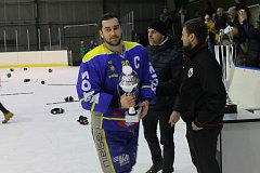 Finále krajské ligy v ledním hokeji: Černošice - Benešov