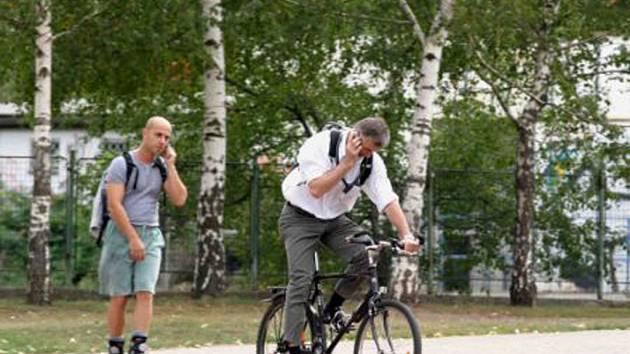 Cyklistika je skvělá věc.