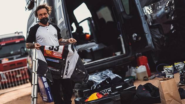 Libor Podmol na Dakaru 2021.