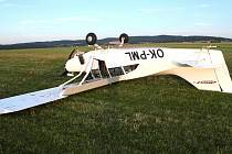 Nehoda letadla v Nesvačilech.