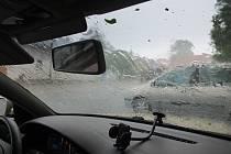 Přívalové deště. Ilustrační foto.