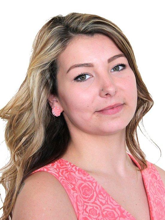 Účastnice castingu Kristýna Hodková z SDH Vranov.