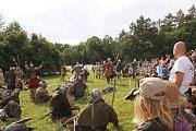 Raně středověká bitva v osadě Brdečný.