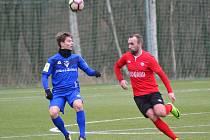 Fotbalisté Vlašimi si poradili během tří dnů i s druhým třetiligovým týmem, tentokrát s Chrudimí.